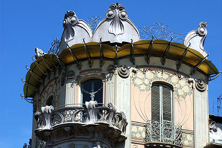 Torino liberty lacasadiflora - Casa stile liberty ...